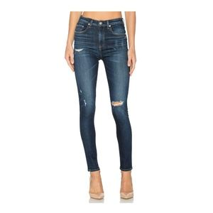 rag & bone Dive High-Rise Skinny Jeans in Daisy